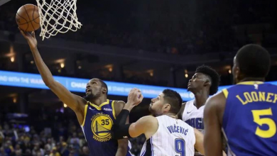 Photo of Con 49 puntos de Durant, Warriors derrotan Orlando