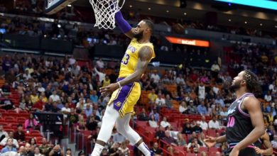 Photo of LeBron James anota 51 y Lakers se imponen a Heat