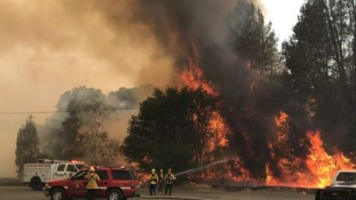 Photo of Declaran a California en estado de emergencia por incendio forestal