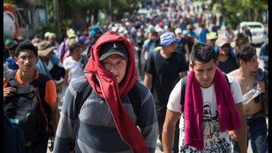 Photo of La caravana de migrantes abandona la Ciudad de México rumbo a EE.UU.
