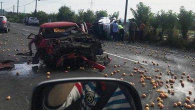 Photo of Muere capitán del Ejército y dos hijos en accidente de tránsito en San Juan