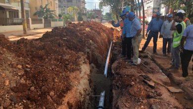 Photo of CAASD coloca más de 1,981 metros lineales de tuberías en SDE