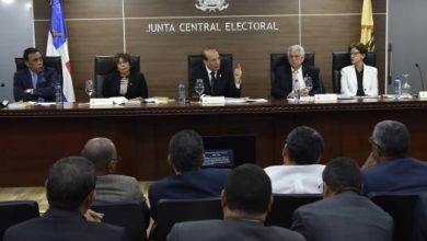Photo of Cinco partidos notificaron a JCE se acogerán a modalidad de primarias simultáneas