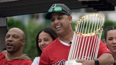 Photo of Alex Cora celebra en Puerto Rico un año inolvidable