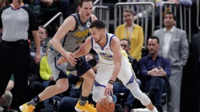 Photo of Curry lidera el ataque Warriors sobre Indiana