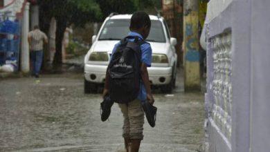 Photo of En sector Simonico exigen filtrantes para calle que se inunda