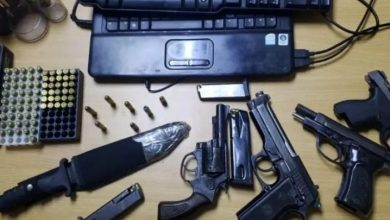 Photo of Arrestan a cinco con armas fuego en redadas Azua