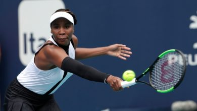 Photo of Venus Williams debutó con triunfo en el Abierto Miami