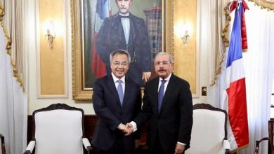 Photo of Danilo Medina recibe al viceprimer ministro de la República Popular China