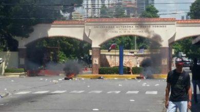 Photo of ¡Cuidado! Disturbios en los alrededores de la UASD