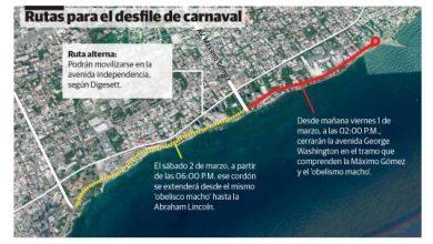 Photo of Cerrarán hoy tramo del Malecón por Desfile Nacional Carnaval