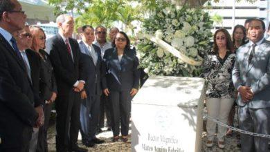 Photo of UASD rinde homenaje a exrector Mateo Aquino Febrillet al cumplirse tres años de su muerte