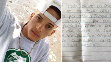 Photo of «Perdón por ser un mal hijo»: deja carta y se suicida