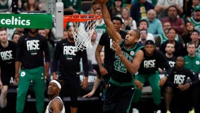 Photo of Irving, Al Horford y Morris elevan Celtics; Blazers vecen Thunder