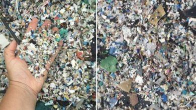 Photo of Las impactantes imágenes que muestran cómo llegan kilos de plástico a una playa española