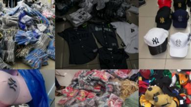 Photo of Policía ocupa 3,930 prendas de vestir presumiblemente falsificadas