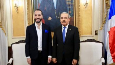 Photo of Danilo Medina recibe al presidente salvadoreño Nayib Bukele