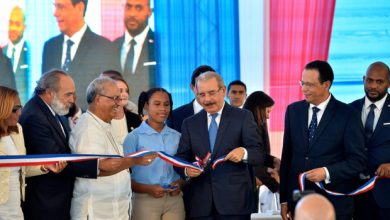 Photo of Danilo Medina entrega dos escuelas en Santo Domingo