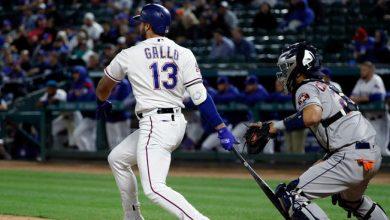 Photo of Rangers superan a Astros con oportuno ataque
