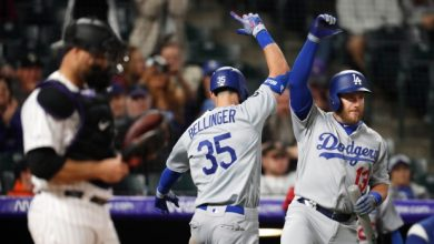 Photo of Bellinger pega su 7mo HR y L.A. barre la serie