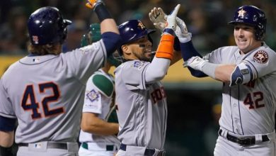 Photo of Grand slam de Bregman y Astros hilan el 10mo