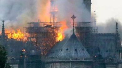 Photo of Terrible incendio afecta la catedral de Notre Dame