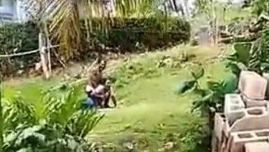 Photo of Captan hombre agrediendo a pareja frente a sus hijos en Samaná