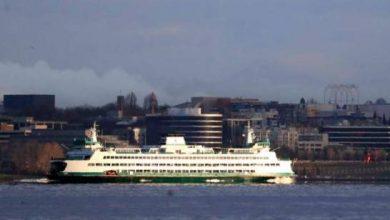 Photo of Un ferry choca a una ballena jorobada cerca de Seattle