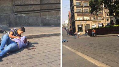 Photo of Mueren dos personas en balacera en el zócalo de ciudad mexicana de Cuernavaca
