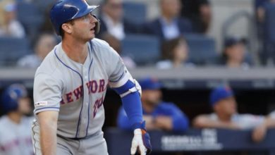 Photo of Con tres HR, Mets dividen doble juego vs. Yankees