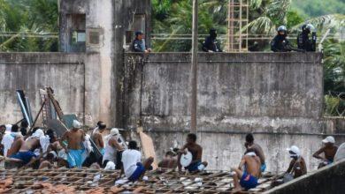 Photo of Al menos 52 muertos deja un motín carcelario en el norte de Brasil