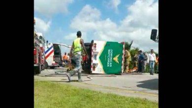Photo of Un muerto y dos heridos en accidente en la autovía del Este