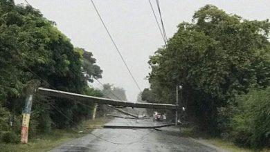 Photo of Lluvias y vientos causan daños en zonas de Dajabón