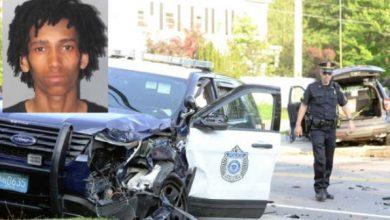 Photo of Tres policías heridos en persecución a alta velocidad contra ladrón de vehículos