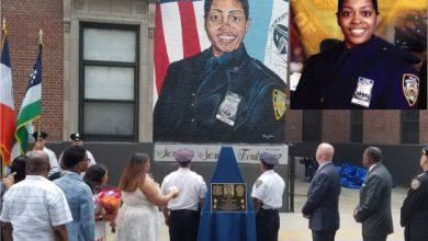 Photo of Develan mural y placa en memoria a policía dominicana asesinada en 2017 en El Bronx