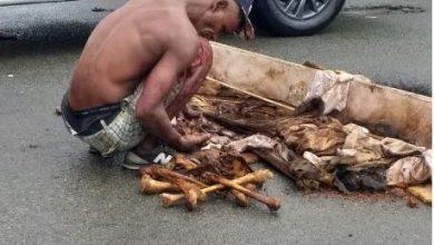 Photo of Hombre profana tumba de su madre y lanza osamenta a la calle