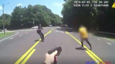Photo of Policía dispara a joven que se le abalanzaba con un cuchillo