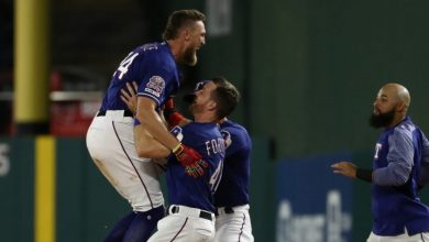Photo of Pence y Rangers dejan en el terreno a Angelinos