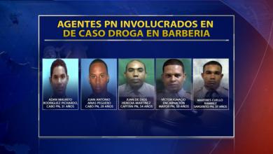 Photo of Agentes DNCD caso droga en barbería son cinco miembros de la Policía