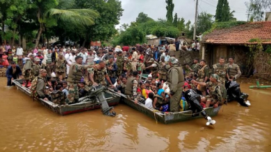 Photo of Suben a 156 muertos y un millón de evacuados por lluvias en el sur de India