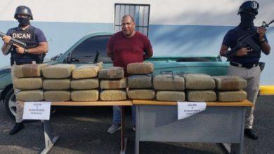 Photo of Apresan a El Gordo con 205 libras de marihuana en Los Frailes