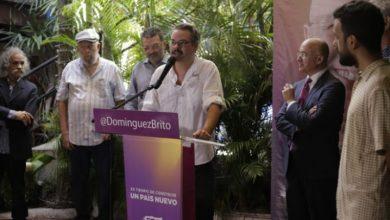 Photo of Frank Perozo, Wason Brazoban y Diomary La Mala, entre los que respaldan candidatura presidencial de Francisco Domínguez Brito