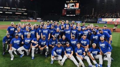 Photo of Dodgers conquistan su 7mo título divisional al hilo