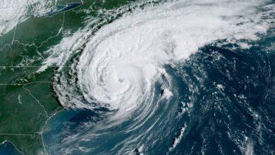 Photo of Huracán Dorian toca tierra en las costas de Carolina del Norte