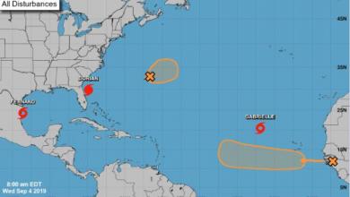 Photo of Tormenta tropical Gabrielle se forma en el Atlántico; no representa peligro para RD