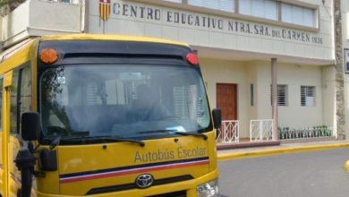Photo of Entregan autobús al Politécnico Nuestra Señora del Carmen Padre Zegrí