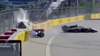 Photo of Un choque en la Fórmula 2 obliga a parar la carrera y deja a dos pilotos hospitalizados