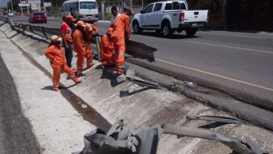 Photo of Obras Públicas repara barandas en autopista
