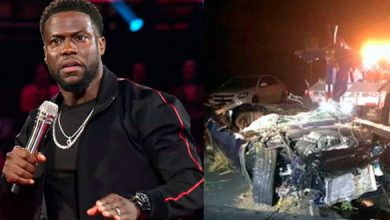 Photo of El actor Kevin Hart resulta herido en un accidente de tráfico en California