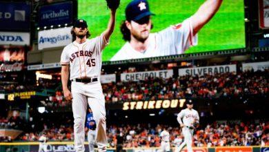 Photo of Cole poncha a 14 en noche histórica para Astros